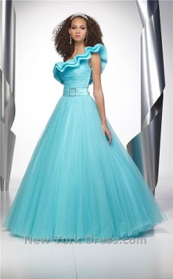 Alyce Quinceanera - Sensational Ball Gown with Flared Skirt and Dramatic Bodice