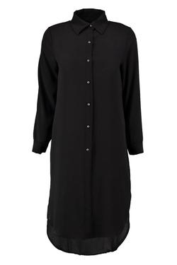 Boohoo - Lou Curved Hem Shirt Dress