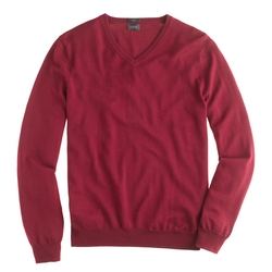 J.Crew - Slim Merino Wool V-Neck Sweater