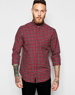 Asos - Long Sleeve Check Shirt