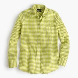 J. Crew - Mini Gingham Boy Shirt