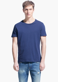 Mango - Cotton Essential T-Shirt