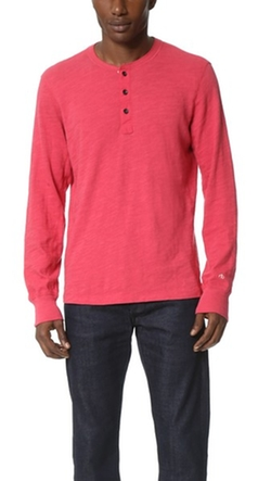 Rag & Bone - Basic Henley Shirt