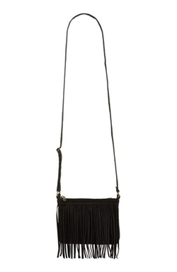 BP.  - Fringe Faux Suede Crossbody Bag