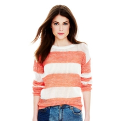 Joe Fresh - Long-Sleeve Striped Sweater
