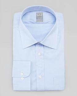 Ike Behar  - Solid Basic-Fit Dress Shirt