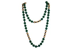 Rarity Room - Jade Glass Bead Necklace