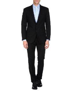 Ralph Lauren Black Label - Flannel Lapel Collar Suit