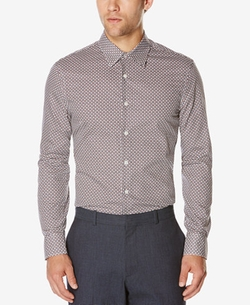 Perry Ellis - Foulard-Print Long-Sleeve Shirt