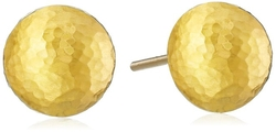Gurhan  - Dome Gold Small-Ball Stud Earrings