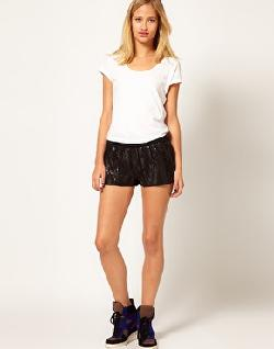 La Fee Verte - Sequin Shorts