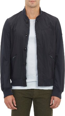 Paul Smith Jeans  - Coated Cotton Bomber Jacket