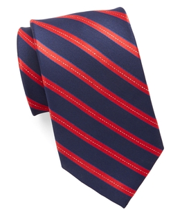 Susan G. Komen Knots - Asymmetrical Stripe Tie