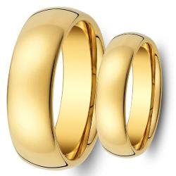 Tungsten Ring Set  - His & Her