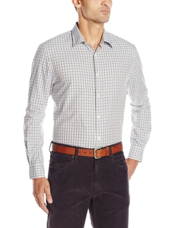 Perry Ellis - Multi Color Dobby Check Shirt