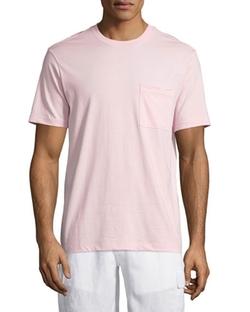 Vilebrequin  - Solid Short-Sleeve Pocket T-Shirt