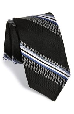 Michael Kors - Dudley Stripe Silk Tie