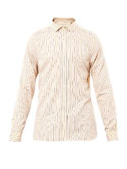 Burberry London  - Slim-Fit Striped Shirt