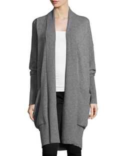 Michael Kors Collection - Long-Sleeve Cashmere Cardigan