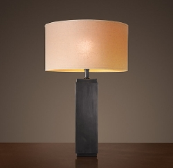 Restoration Hardware - Square Column Table Lamp