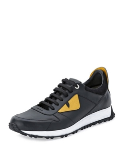 Fendi - Monster Runner Spike-Back Sneakers