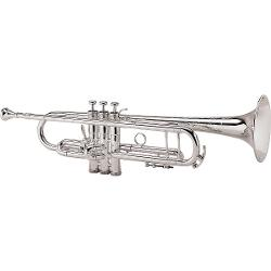 King  - Silver Flair Series Bb Trumpet 1st Valve Thumb Trigger