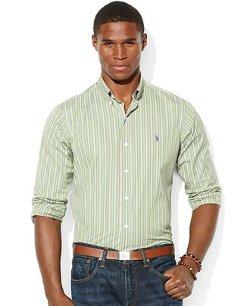 Polo Ralph Lauren  - Multi-Striped Cotton Shirt