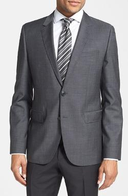 Hugo - Aeris Trim Fit Wool Sport Coat