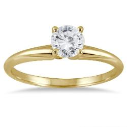 Szul - Round Diamond Solitaire Ring