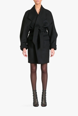 Balmain  - Oversized Wool Coat