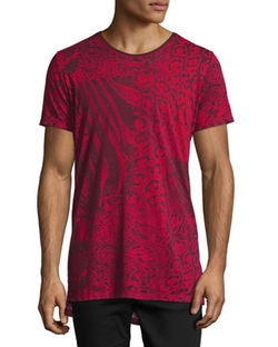 Diesel - Marcuso Mixed Animal-Print T-Shirt