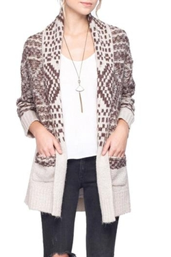 Gentle Fawn - Printed Dolly Cardigan