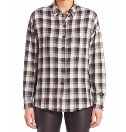 Set - Plaid Button-Front Shirt