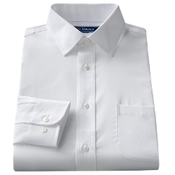 Croft & Barrow - Broadcloth Spread-Collar Dress Shirt