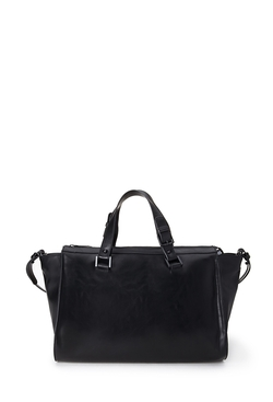 Forever21 - Unstructured Faux Leather Satchel