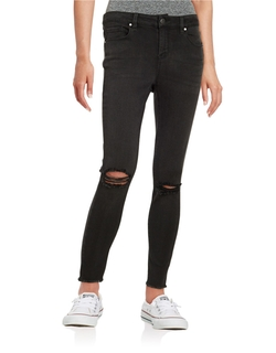 Design Lab Lord & Taylor - Distressed Skinny Jeans
