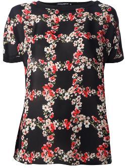 Dolce & Gabbana  - Floral Print T-shirt