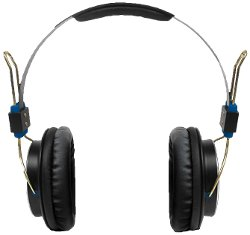 Sakar - Baseline Orange and Blue Headphone
