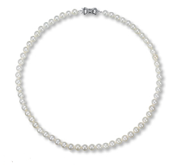 Sea Magic Cultured Pearls by MIKIMOTO - CULTURED PEARL NECKLACE STERLING SILVER