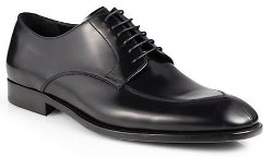 Giorgio Armani  - Leather Lace-Up Dress Shoes