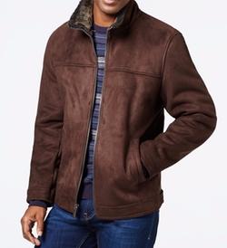 Nautica - Faux-Shearling Zip Jacket