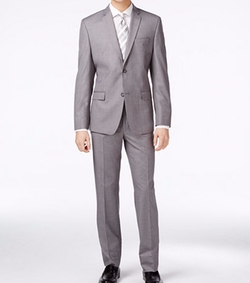 Marc New York - Sharkskin Slim-Fit Suit