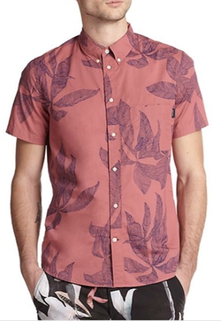Paul Smith Jeans  - Palm Leaf-Print Camp Shirt