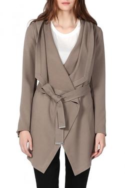 Soia & Kyo - Draped Wrap Coat
