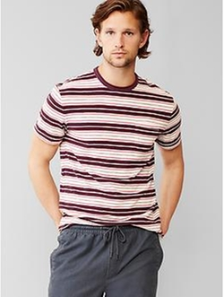 Gap - Multi-Stripe Pocket T-Shirt