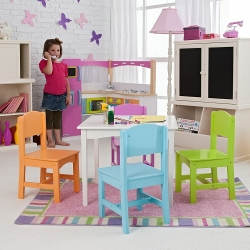 Kid Kraft  - Nantucket Big N Bright Table & Chair Set