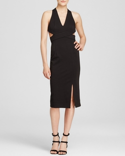 N Nicholas - Wrap Halter Dress