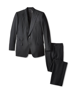 Tom Ford - Peak Lapel Suit With Pickstitching