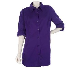George Simonton  - Long Sleeve Button Front Shirt