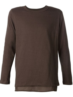 Bed J.W. Ford - Two-Layer Long Sleeve T-Shirt